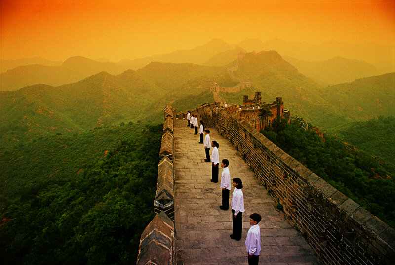 Choir on The great Wall