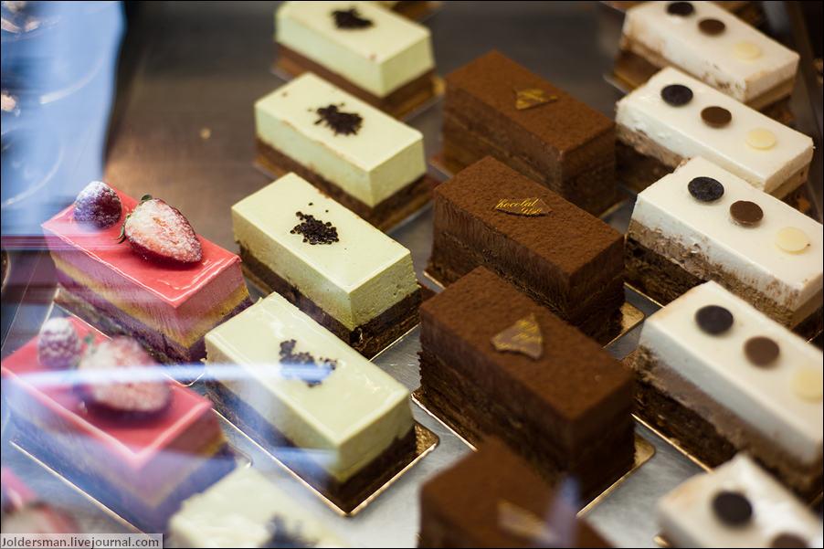сладости в Париже