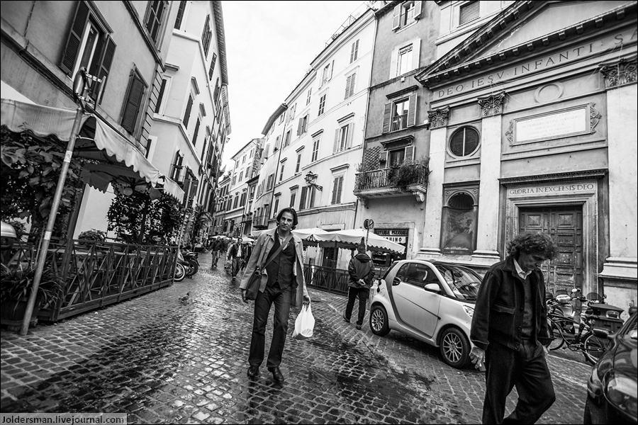 путник в Риме