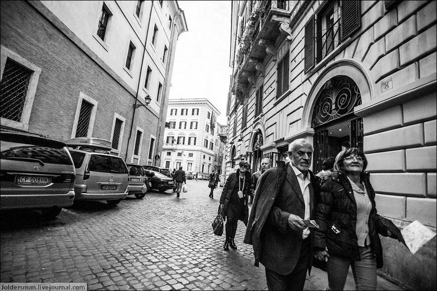 туристы рим