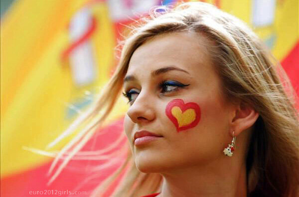 Болельщицы на Евро 2012