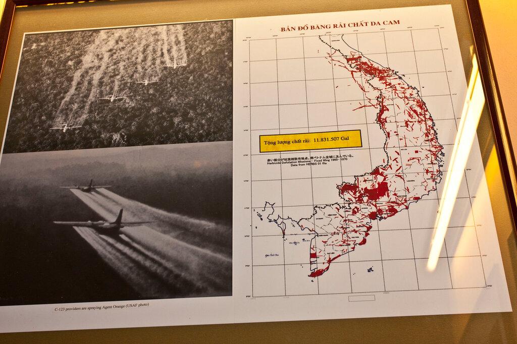 Экологическая ситуация в Южном Вьетнаме