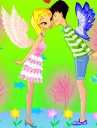 Рисунки винкс и питомцев и игра одень Брендона и Стеллу