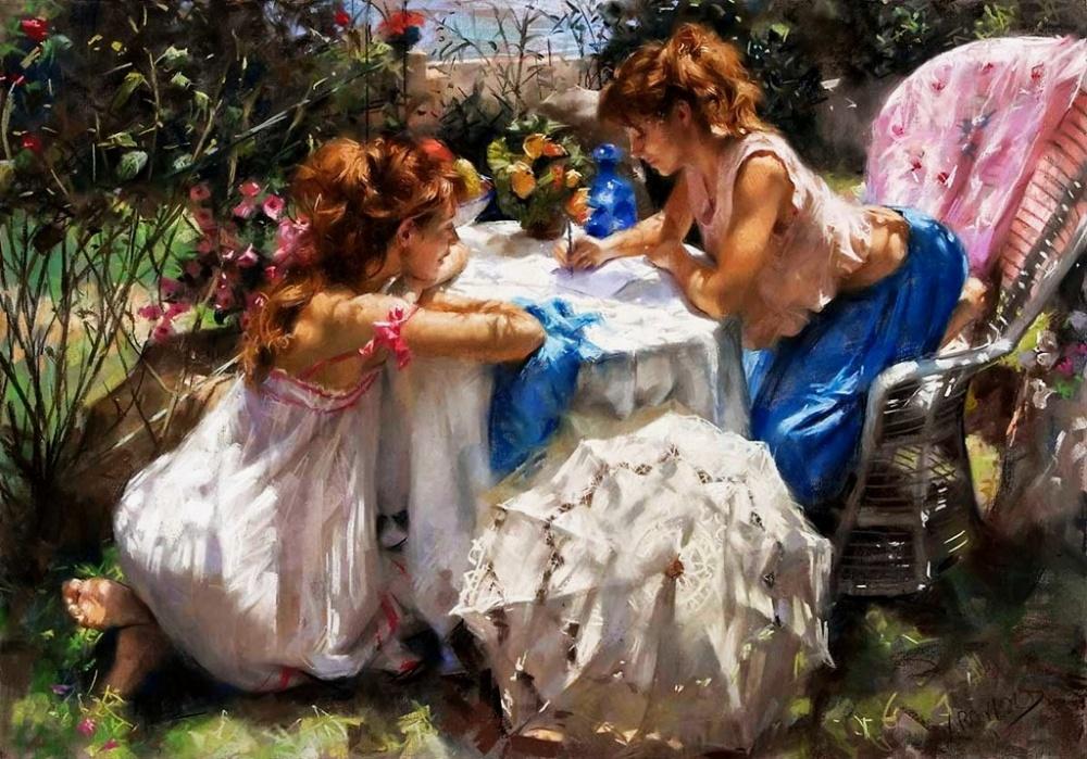 15пленительных картин испанского художника