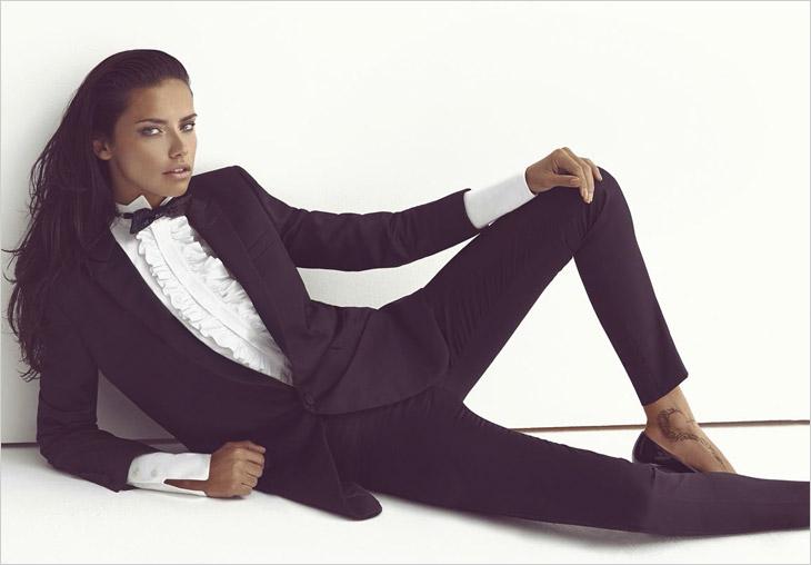 Адриана Лима в Vogue Turkey 2014