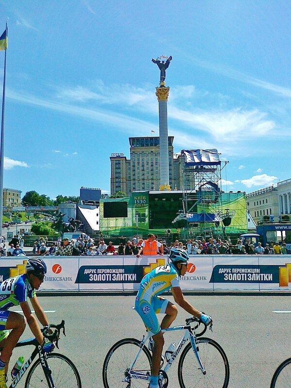 Велогонка в Киеве