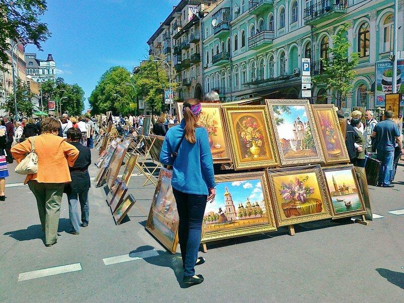 День Киева 2012 на Владимирской