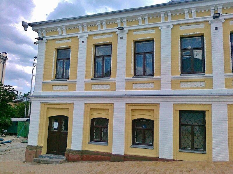 Дом на Андреевском спуске после ремонта