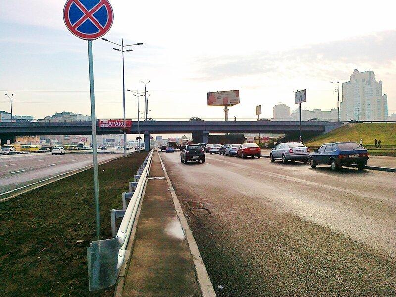 Новая развязка на проспекте Бажана