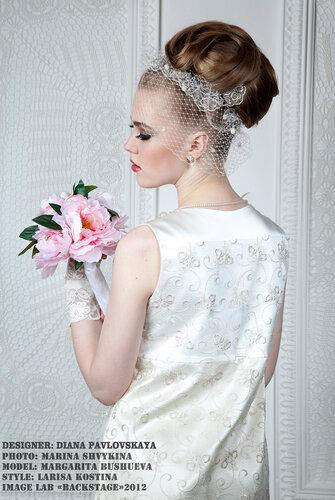 Белое платье ,сайт www.fashion-piart.ru