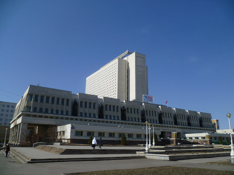 Омск, библиотека имени Пушкина (Omsk, library named after Pushkin)