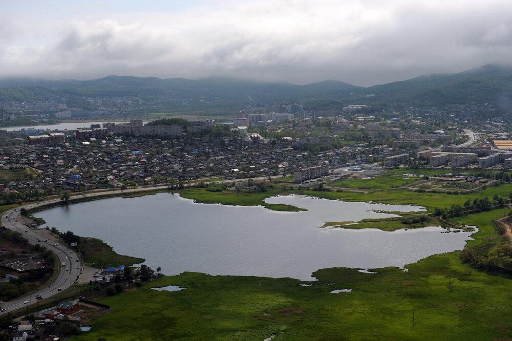 город находка приморский край фото вид сверху
