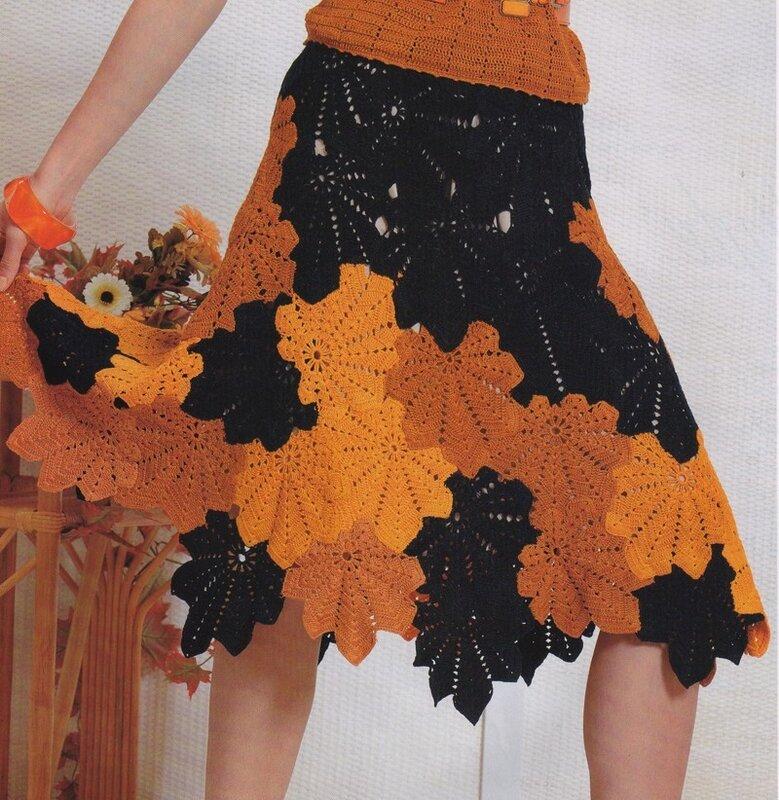 юбка сеткой и свитер