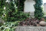 Paris - Montparnasse Cemetery in Montparnasse - Jacques Demy
