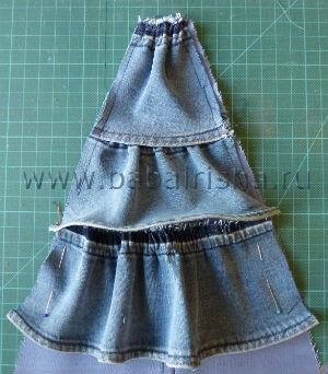 клин юбки