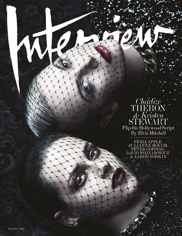 Charlize Theron And Kristen Stewart For Interview