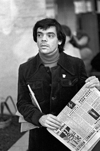 Константин Райкин.Фото Валерий Христофоровт1978 г.