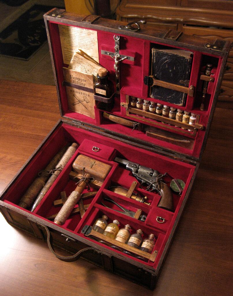 Vampire Killing Kit by Patrick Reilly (preilly.deviantart.com)