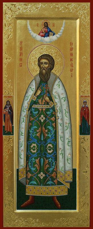 Мерная икона святой боярин Феодор Черниговский