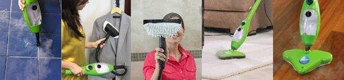 Купить Паровая швабра H2O Mop X5 (H2O Моп Х5)