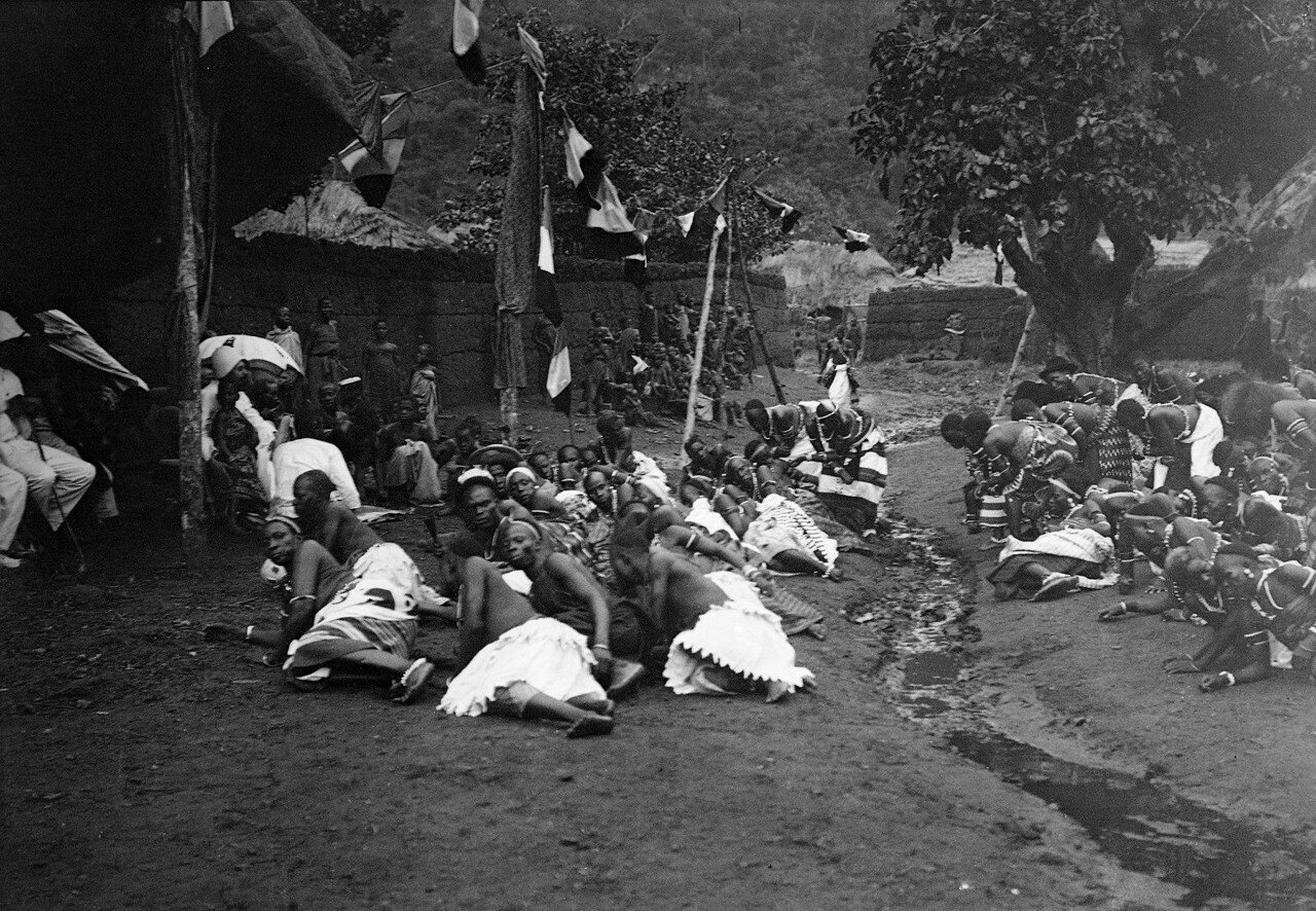 Савалу. Ритуальные танцы