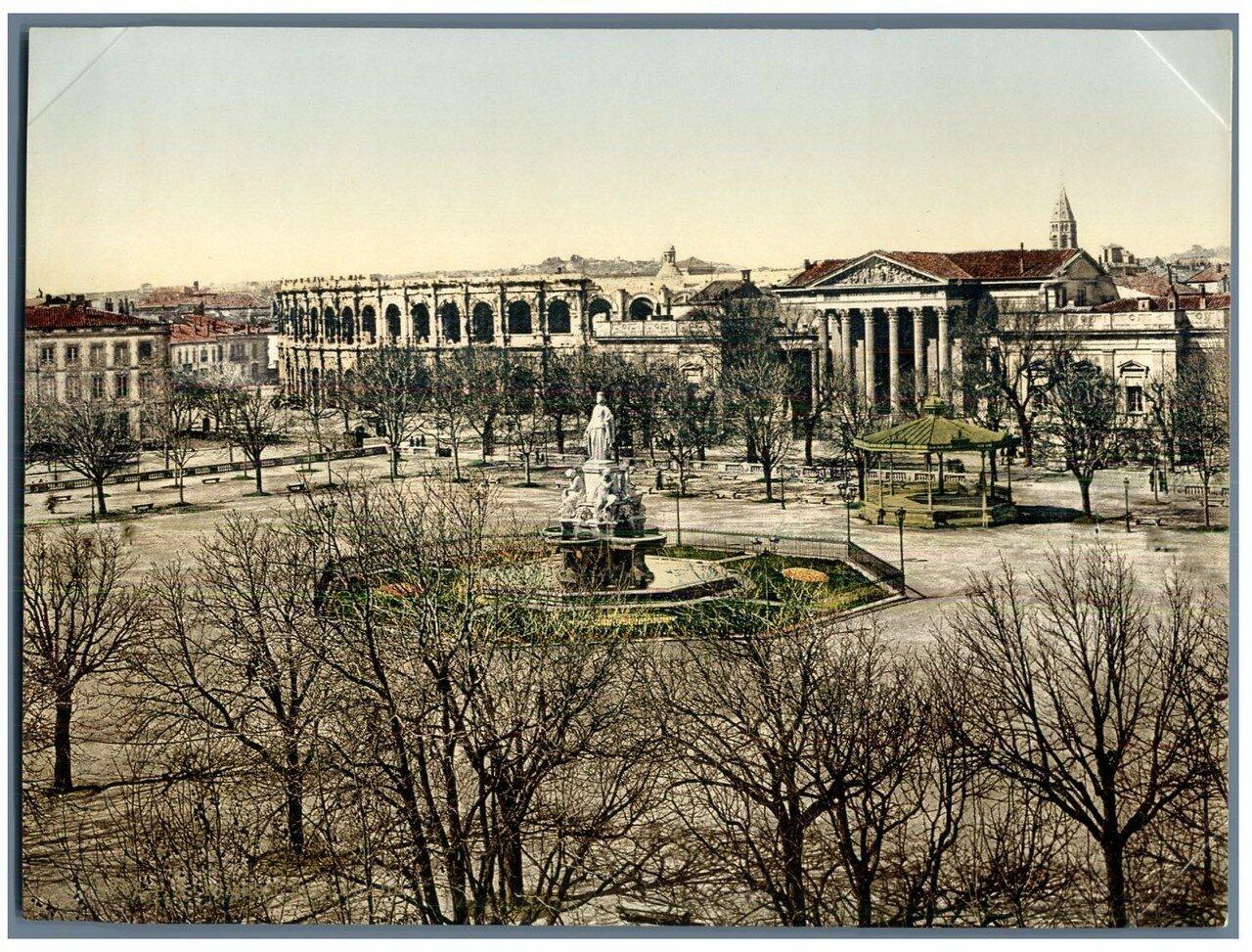 Амфитеатр. Вид с площади. 1898