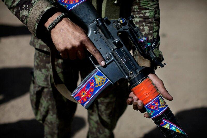 Afghanistan.<br />Soldaterne i Afghanistan national Army (ANA) har vist sig som gode krigere med en kulturel baggrund meget langt fra danskernes.