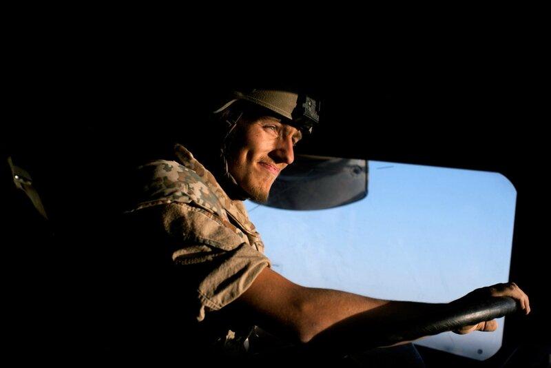 Afganistan.<br />Price og afgang til Patrol Base Line. Clifton, Bridzar, Spondon og Malvern.