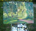 этюды, живопись