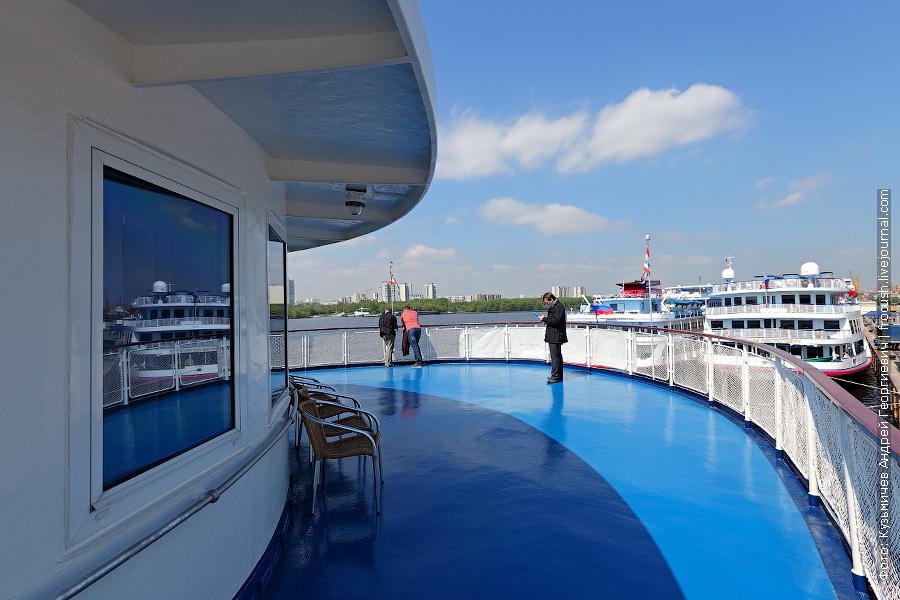 место открытия навигации 2012 года