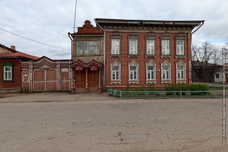 Дом купца Дерябина в Козьмодемьянске