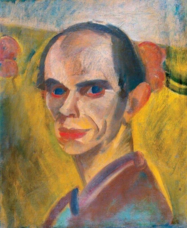 Derkovits_Self-portrait_1926