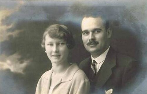 Herzog Maximilian von Hohenberg 1902-1962 mit Ehefrau Elisabeth