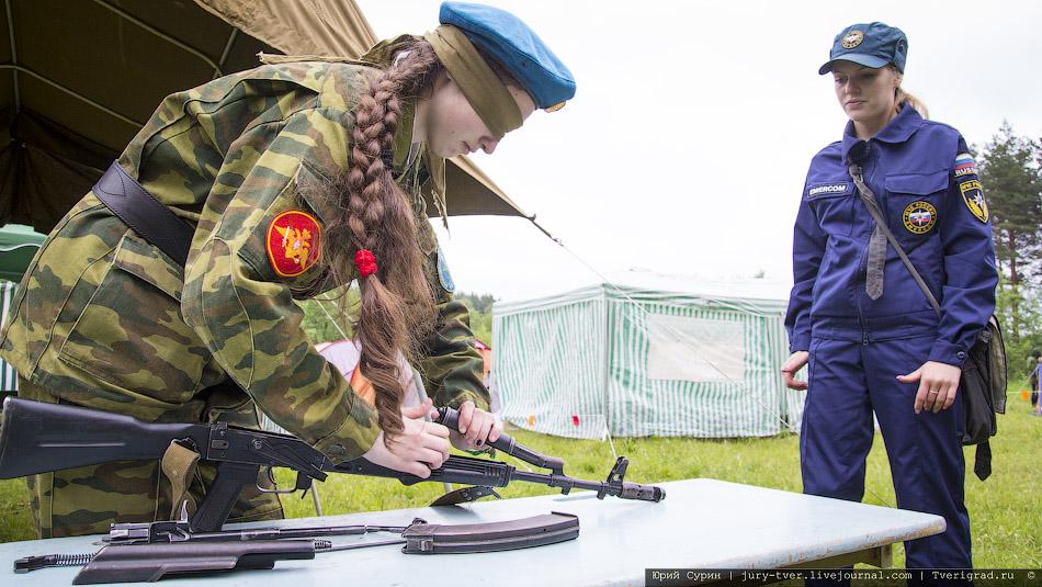 Школа безопасности и полевой лагерь Юный спасатель в Твери 2012
