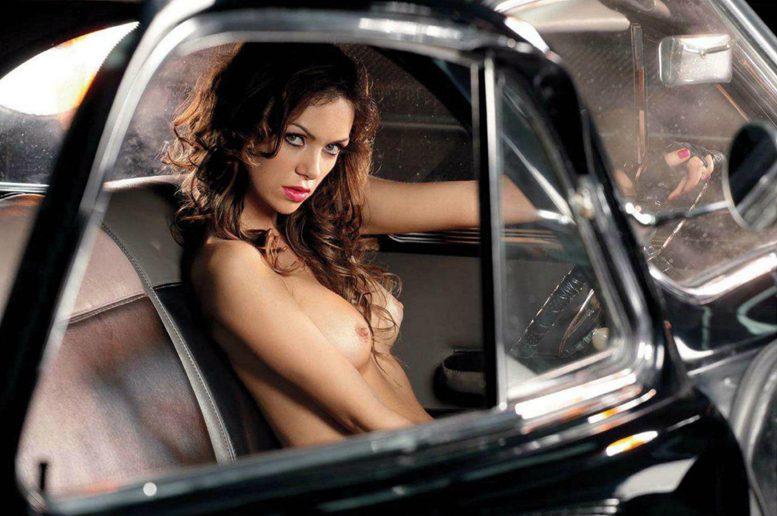 Певица Лера Кондра в журнале Playboy Россия, июль 2012