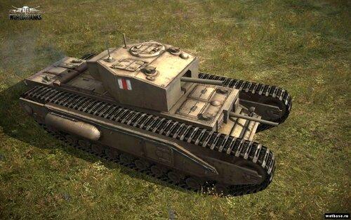 Тяжелый танк Churchill I