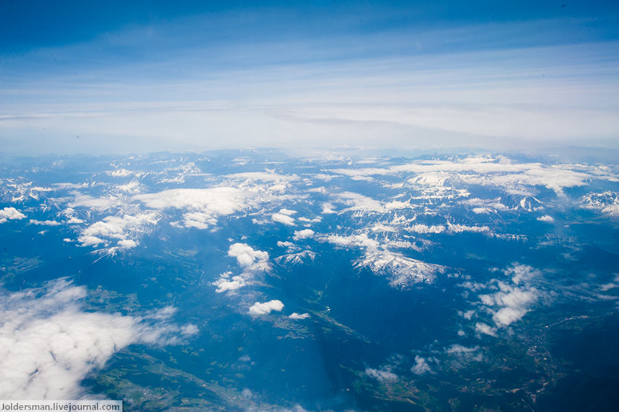 фото горы сверху