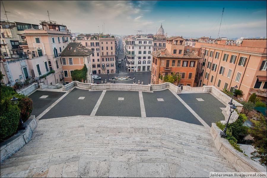 вид на Рим сверху