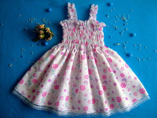 Сшить детское платье на резинке 869