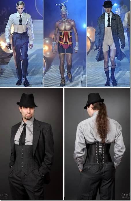 Новые веяния в мужской моде.