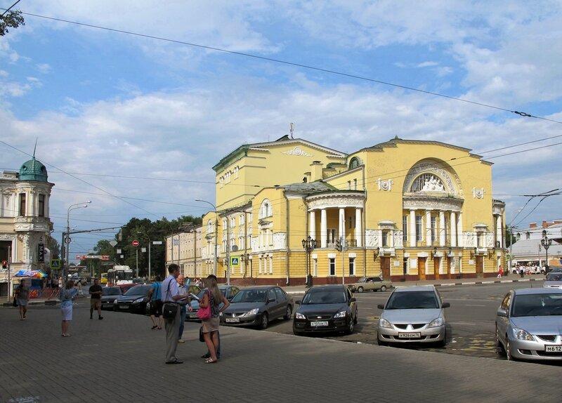 Волковский театр ярославль официальный сайт афиша - 9b