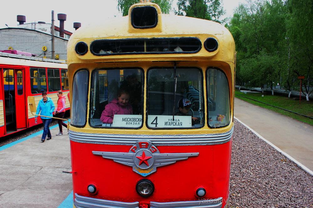 Один из самых старых трамваев