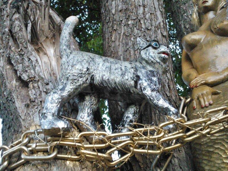 Восстановленный кот
