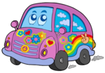 cutcaster-photo-100381637-Hippie-car.png