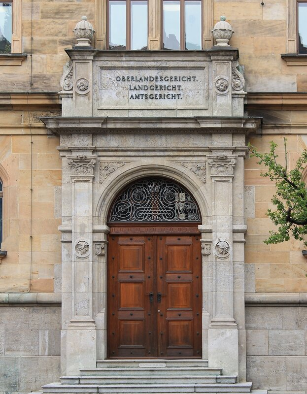 the higher regional court of Bamberg (Bamberg Oberlandesgericht)