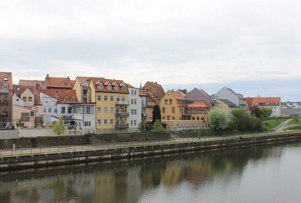Bamberg. The Main-Danube canal (Main-Donau-Kanal)
