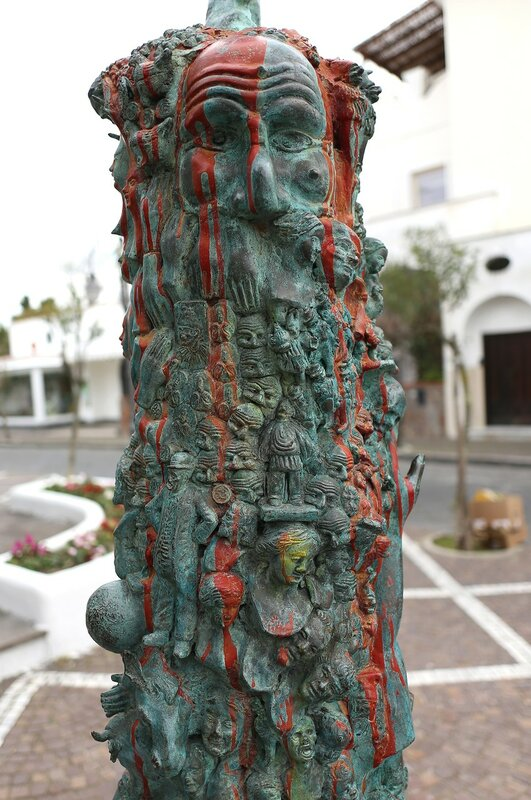 Скульптура Gesu fate luce, Искья-Порто