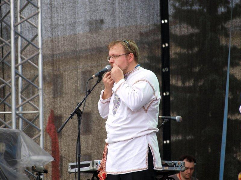 Роман Ломов и варган