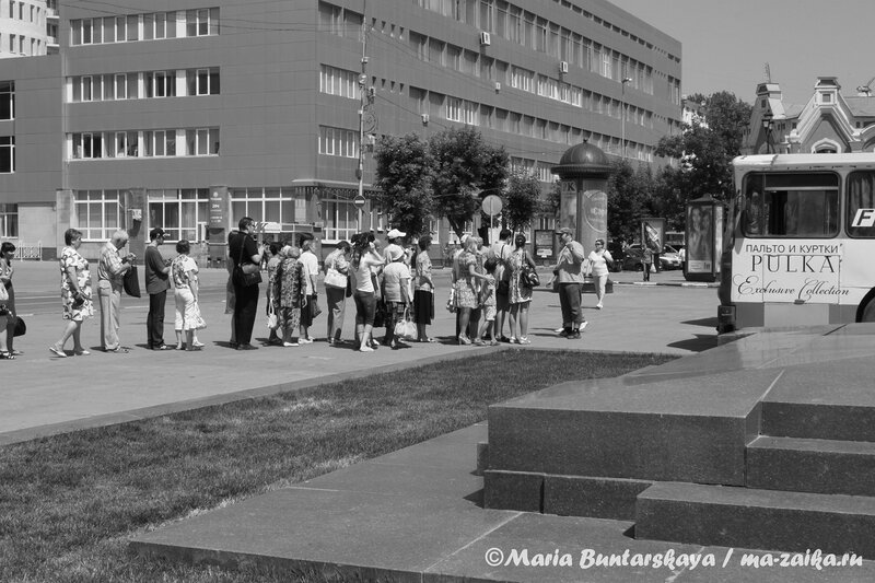 Экскурсия 'Исторические и памятные места города Саратова', Саратов, 12  июня 2012 года