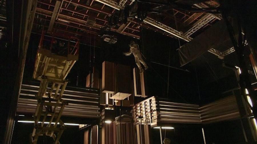8. Interstellar Finale Scene Filmed Without Special Effects .